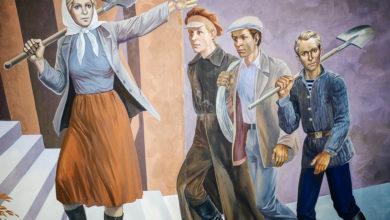 """La """"Rivoluzione dei Tulipani"""" in Kirghizistan."""