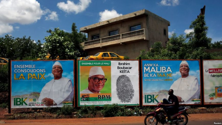 The 2018 Presidential election in Mali