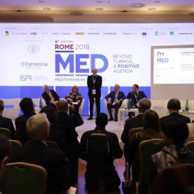 Med Dialogues 2018 rischi ed opportunità nel Mediterraneo allargato