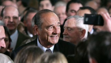 Adieu président Chirac.
