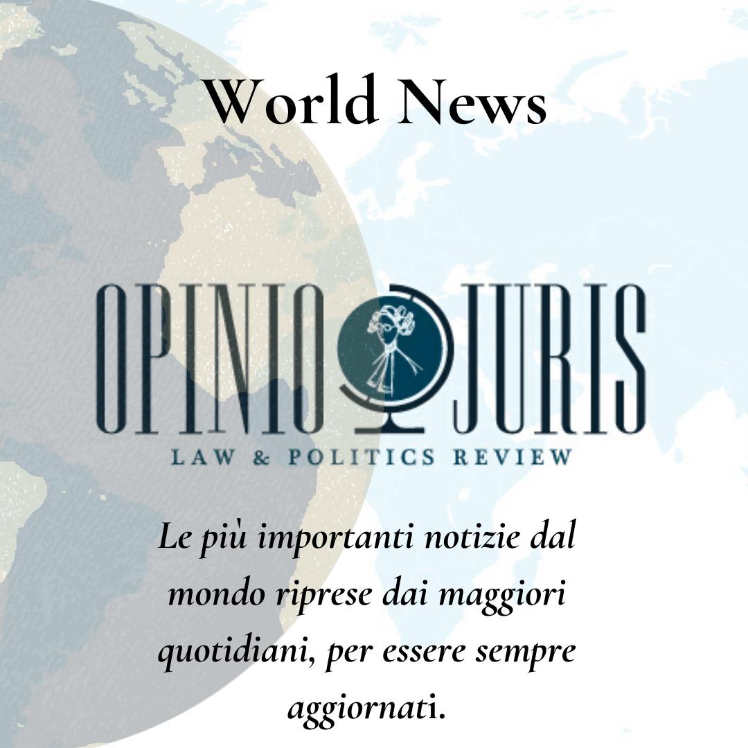 World News, una settimana di notizie